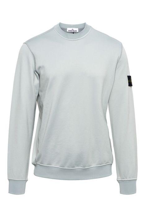 Stone Island Sweater 63547 Crew Neck Cotton mix Grijs