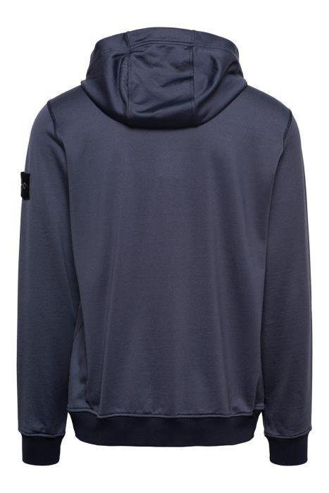 Stone Island Sweater Hoodie 63247 Katoenmix Donkerblauw