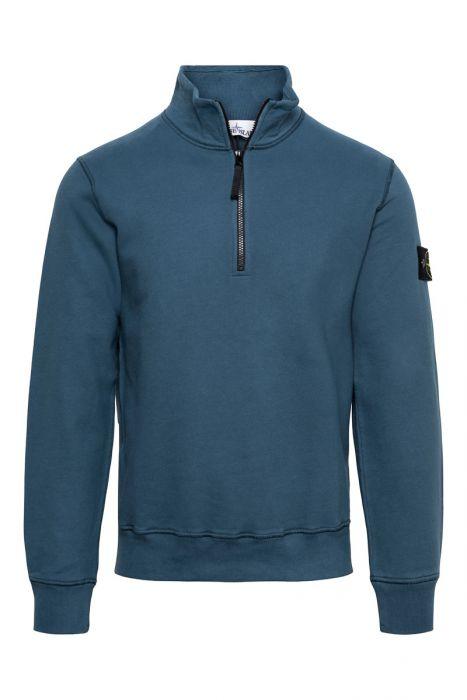 Stone Island Sweater Polokraag 100% Katoen