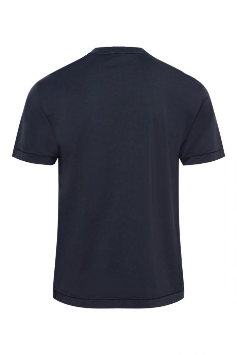 Stone Island T-Shirt 24113 Korte Mouw Slim fit Cotton Donkerblauw