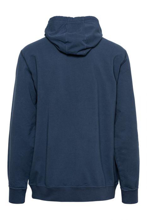 Stone Island Trui 62937 Sweater Hood Katoen Donkerblauw