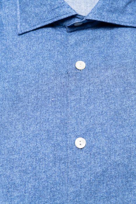 Tintoria Mattei Overhemd 100% Katoen
