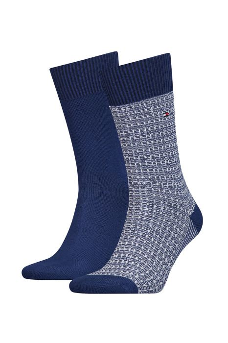 Tommy Hilfiger sokken Two Pack Structure Uni