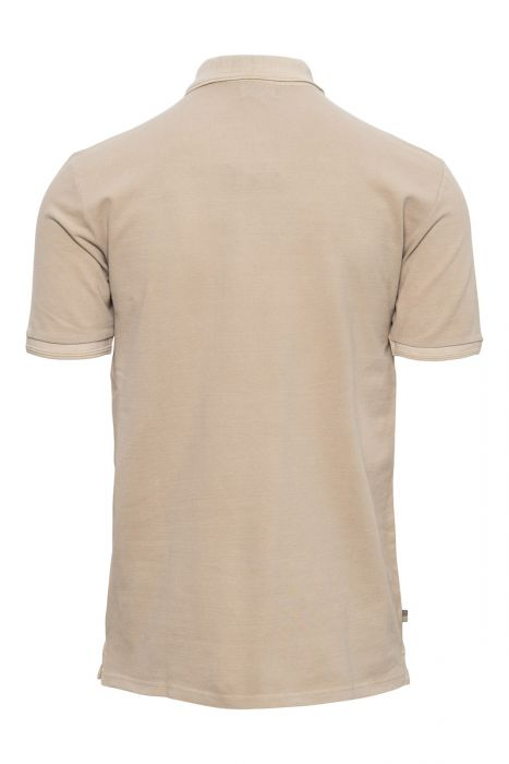 WOOLRICH Mackinack Polo Garment Dyed Stretch Pique