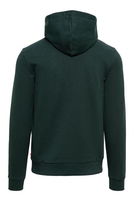 Woolrich Sweater Hoodie 100% Katoen Made Portugal