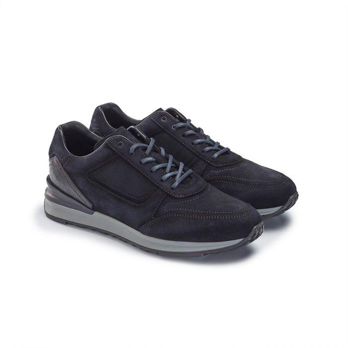 Greve Sneaker Capra Suede NIght Blue Shade