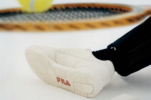 Over Fila schoenen | Being There herenkleding