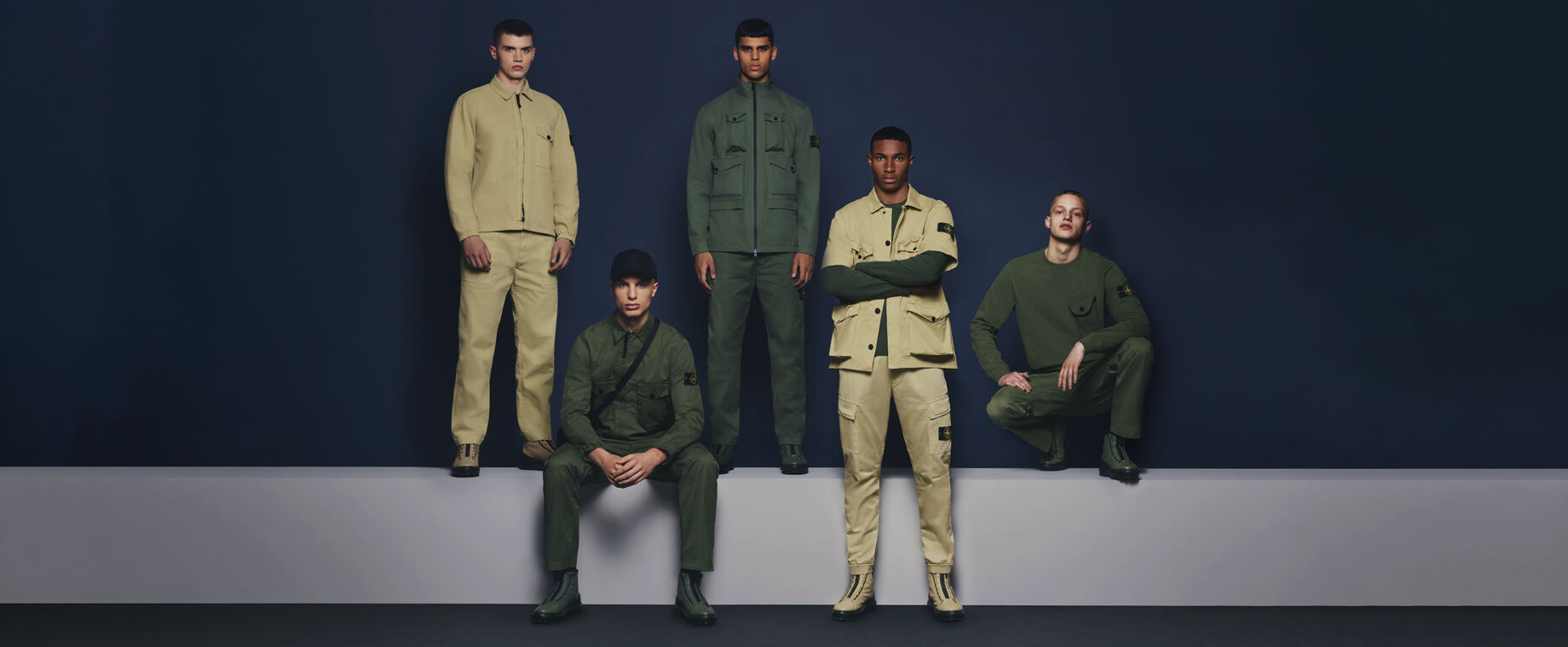 Nieuwe collectie Stone Island | Being There